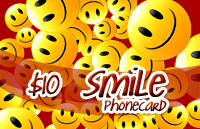 Smile Phone Card $10 - International Calling Cards
