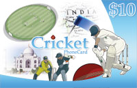Cricket Phone Card $10 - International Calling Cards