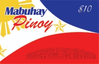 Mabuhay Pinoy $10 - International Calling Cards