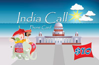 India Call $10 - International Calling Cards